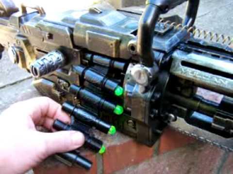 Steampunk guns made from NERFs