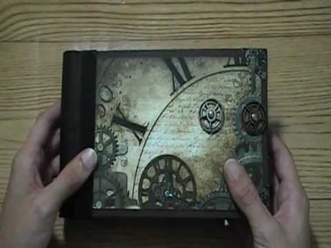 Masculine Tattered Time Mini Album