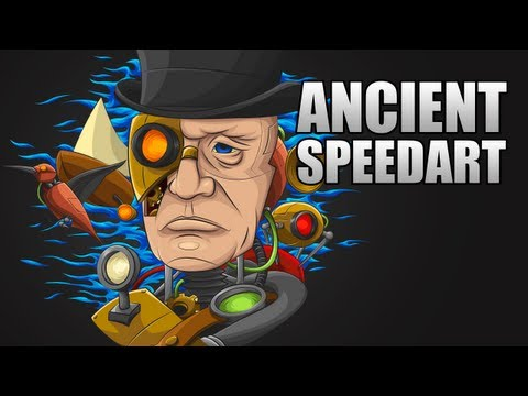 Speed Art | Ancient by Mattyjay (Drone Entry)