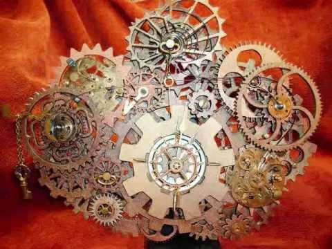 Deconstructed Reconstructed Steampunk Clock